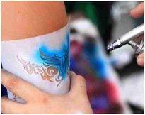 Airbrush Tattoo / bodypaint