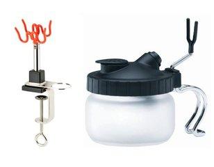 Verschiedene Airbrush-Produkte