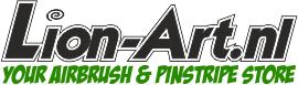 Logo Airbrush und Pinstripe Store Lion-art