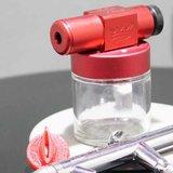 Flake King 500 mit Airbrush adapter_