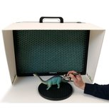 BenchVent BV260S Recirculating Desktop Spray Booth