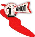 One Shot Vermillion 118ml