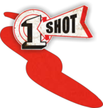 One Shot Fire Red 237ml