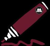 burgundy 1.5mm