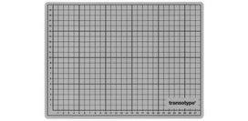 Transotype Schneidmatte transparent 30x22