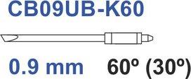 Graphtec messer 60º 0,9mm