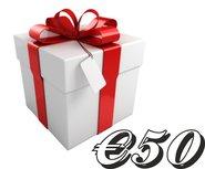 Geschenkkarte €50,-