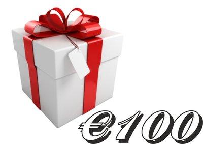 Geschenkkarte €100,-
