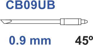 Graphtec messer 45º 0,9mm