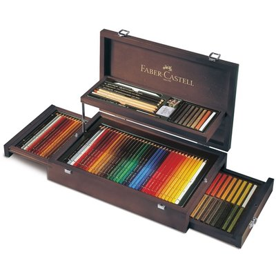 Faber Castell Art & Graphic COLLECTION wood case