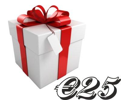 Geschenkkarte €25,-
