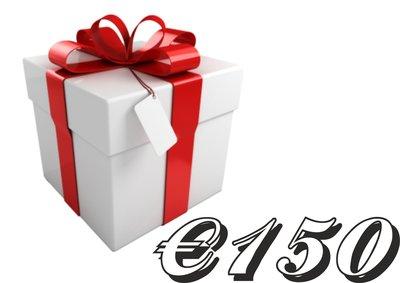 Geschenkkarte €150,-