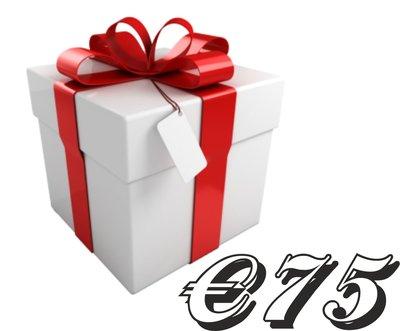Geschenkkarte €75,-