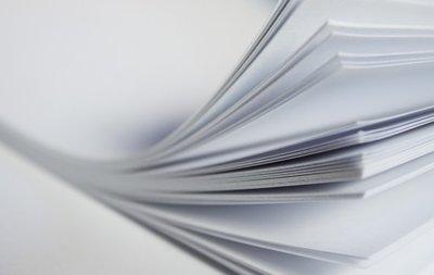 Waterslide Decal papier weiß inkjet A4