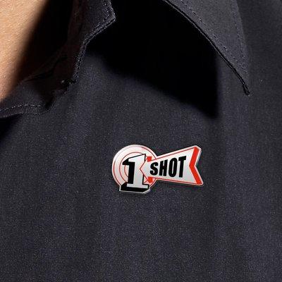 One Shot pin