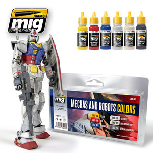 ROBOTS & MECHAS COLORS (6x 17ML)