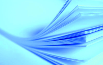 Waterslide Decal papier 13 micron transparant laser A4 (blue backing)