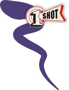 One Shot Art & Poster Colors Purple 237ml