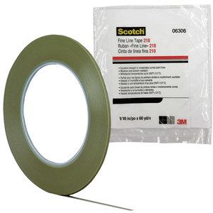 Farblinienband 3M Scotch 218  06306  1,6 mm Rolle